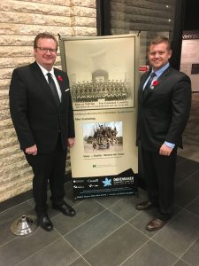 DIEFENBAKER CENTER-VIMY MEMORIAL EXHIBIT
