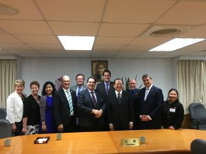 CANADIAN DELEGATION VISITS TAIWAN