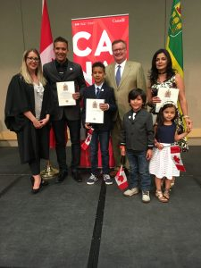 CANADIAN CITIZENSHIP CEREMONY AT TCU PLACE