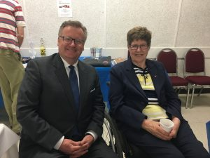 MAVIS BRISTOW WAS THE GUEST SPEAKER AT THE 47TH ANNUAL AGM OF CHESHIRE HOMES