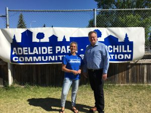 Deb Hockley, President Adelaide Park-Churchill Community Association Family Fun Day