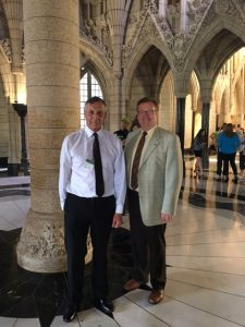 Hon. Don Morgan took the time to visit our Ottawa Office