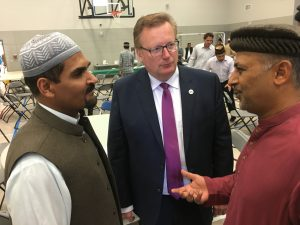 Celebrating Eid Al Fitr with the Ahmadiyya Muslim Community at their new beautiful mosque
