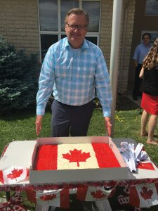 Celebrating Canada Day at the Saskatoon Christian School