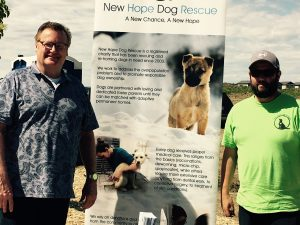 Arbutus Summer Kick Off Party fundraising for New Hope Dog Rescue
