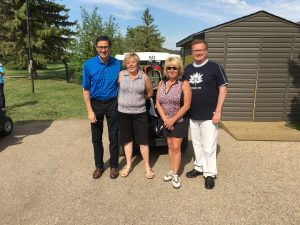 Team Waugh had a great time participating in the Sunnyside Adventist Care Centre Golf Tourney