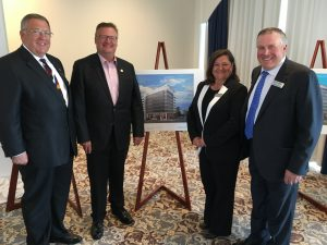 WORLD TRADE CENTER SASKATOON OFFICIAL ANNOUNCEMENT-DON ATCHISON, BERNICE & JOHN WILLIAMS