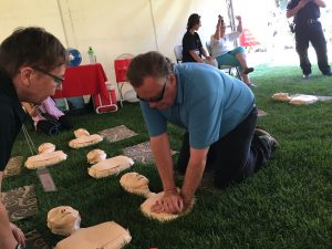 COMMUNITY OF HEROES CPR RELAY-HEART & STROKE