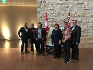 INAC STANDING COMMITTEE AT THE CANADIAN MUSEUM FOR HUMAN RIGHTS WITH GRAND CHIEF JERRY DANIELS