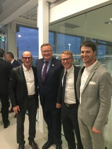 MASERATI-ALFA ROMEO GRAND OPENING WITH VAUGH, MICHAEL & PHILLIP WYANT