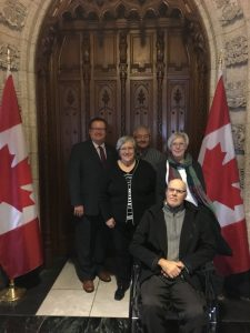 MYRON & LOUISE STROHAN - KATHY & TED SHARMAN-TOUR OF PARLIAMENT (1)