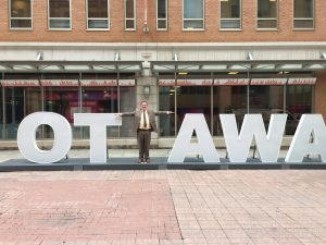 OTTAWA SIGN ON SPARKS STREET