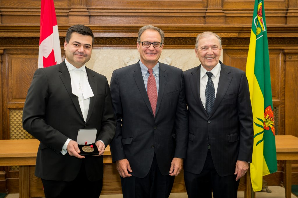 LORNE WRIGHT HONOURED WITH SENATE 150 MEDAL