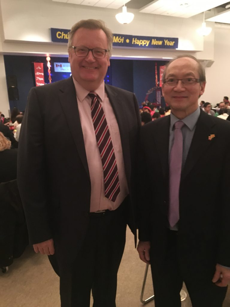 TRUNG NGUYEN AT THE VIETNAMESE LUNAR NEW YEAR CELEBRATION