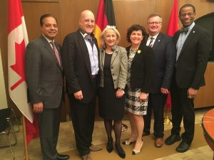 CANADA-GERMANY INTERPARLIAMENTARY GROUP AGM