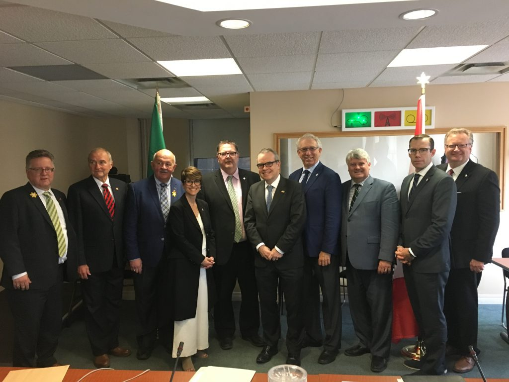 CANADA-IRELAND INTERPARLIAMENTARY GROUP AGM