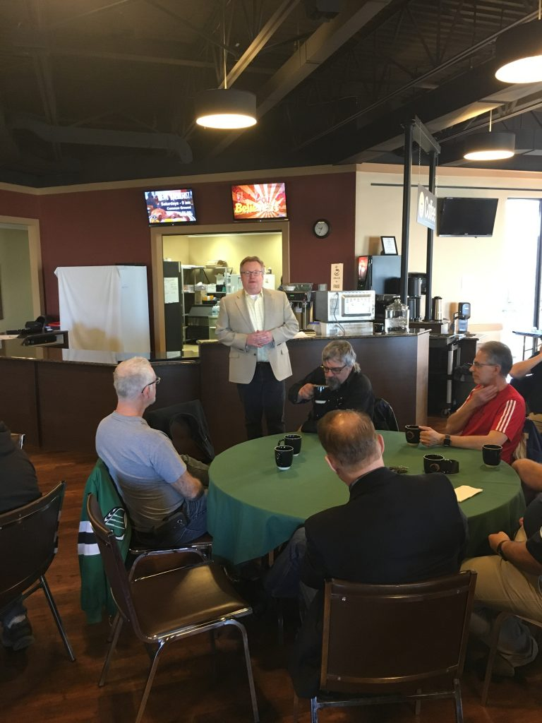 MEETING WITH CONCERNED MEMBERS OF CIRCLE DRIVE ALLIANCE CHURCH-CANADA SUMMER JOBS PROGRAM