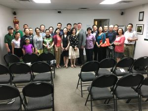 CHINESE COMMUNITY MEETING IN SASKATOON
