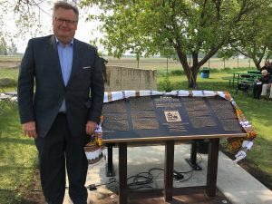 EATON INTERNMENT CAMP MEMORIAL DEDICATION