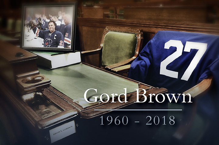 IN REMEMBRANCE OF GORD BROWN, MP
