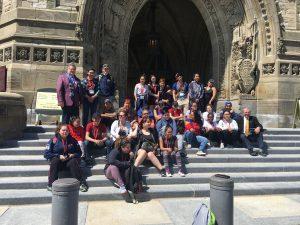INUGLAK SCHOOL, WHALE COVE, NUNAVUT PARLIAMENT HILL TOUR