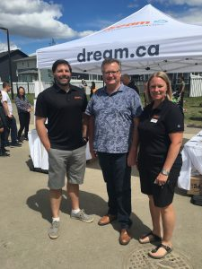 BRAD ZUREVINSKI & HOLLY PATZER DREAM DEVELOPMENT PHASE 3 GRAND OPENING IN BRIGHTON