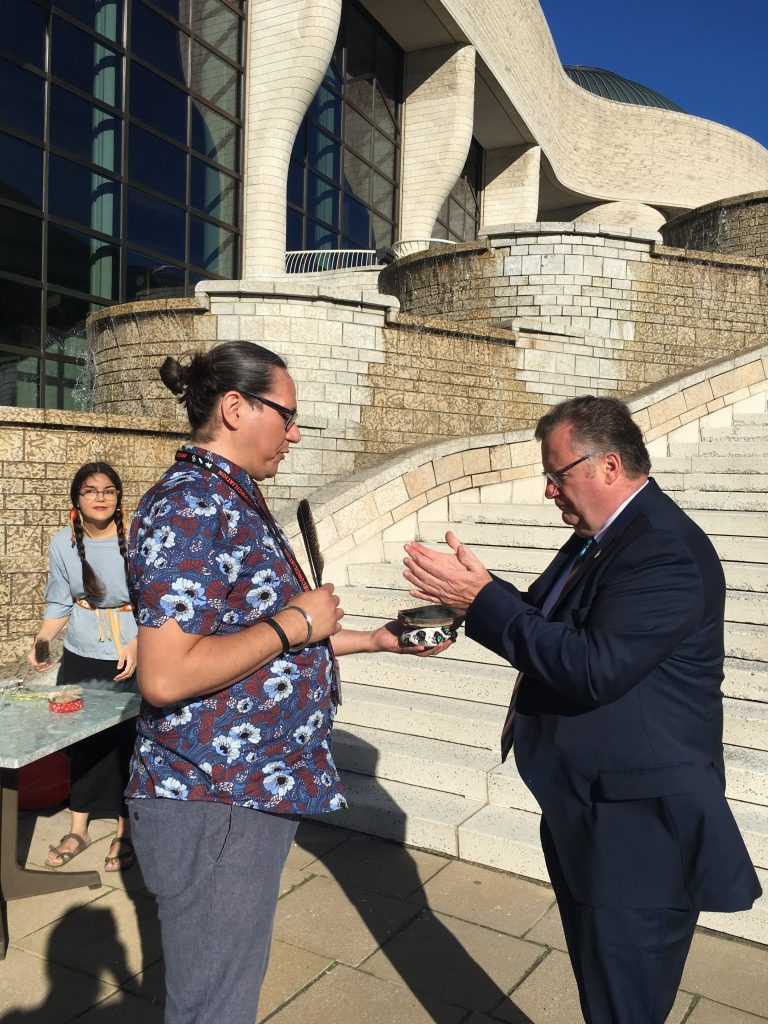 NATIONAL INDIGENOUS PEOPLES DAY CEREMONY OTTAWA