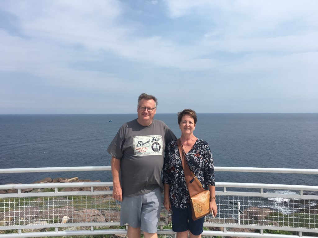 AFTER THE CONSERVATIVE CONVENTION, ANNE & I CHECKED OUT NEWFOUNDLAND