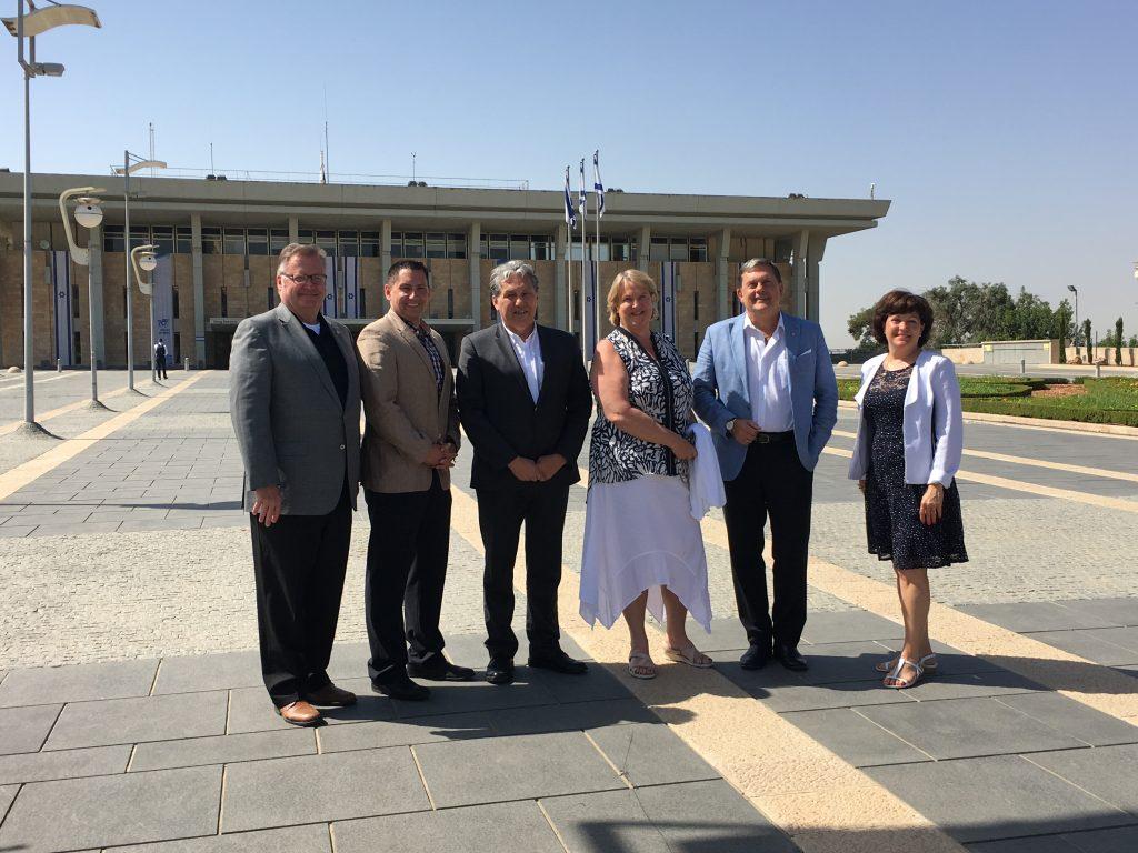 The Knesset - Israeli Parliament