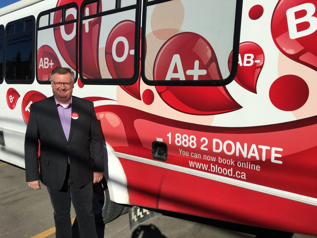 CANADIAN BLOOD SERVICES 20TH ANNIVERSARY