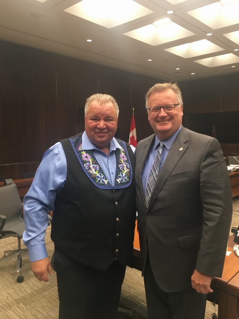 DAVID CHARTRAND, METIS NATIONAL COUNCIL ATTENDING STANDING COMMITTEE ON VETERANS AFFAIRS