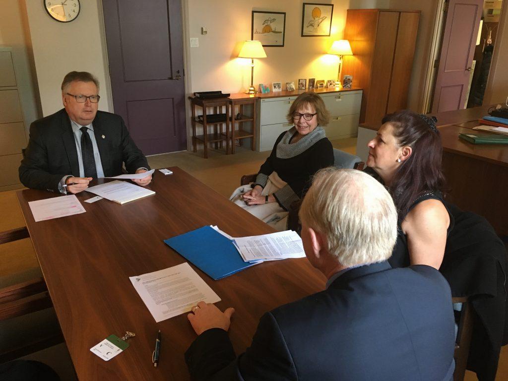 MEETING WITH INCLUSION SASKATCHEWAN