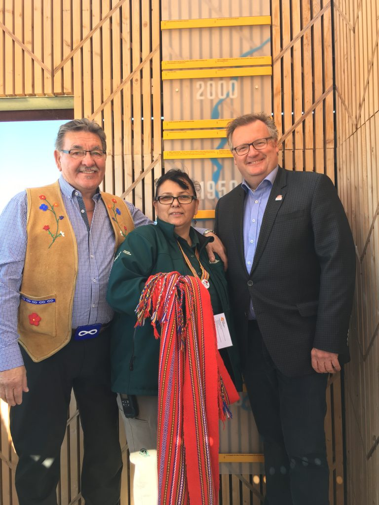 NORMAN FLEURY & JACKIE GAUDET AT THE BATOCHE FOR THE 12TH EDITION OF JOURNEES DU PATRIMOINE–HERITAGE DAYS