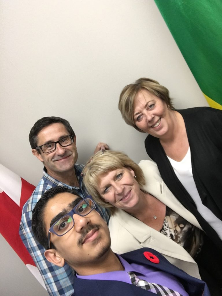 BRING YOUR KID TO SCHOOL DAY WITH OMAIR KHAN & MY SASKATOON STAFF