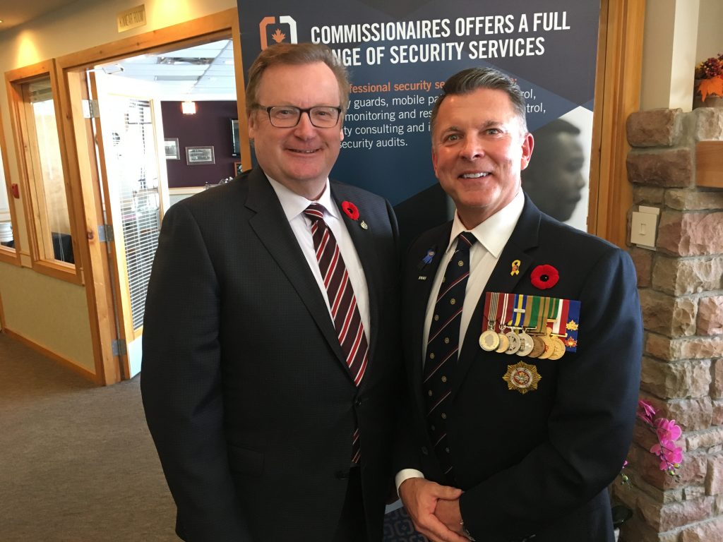 COMMISSIONAIRES REMEMBRANCE DAY LUNCHEON