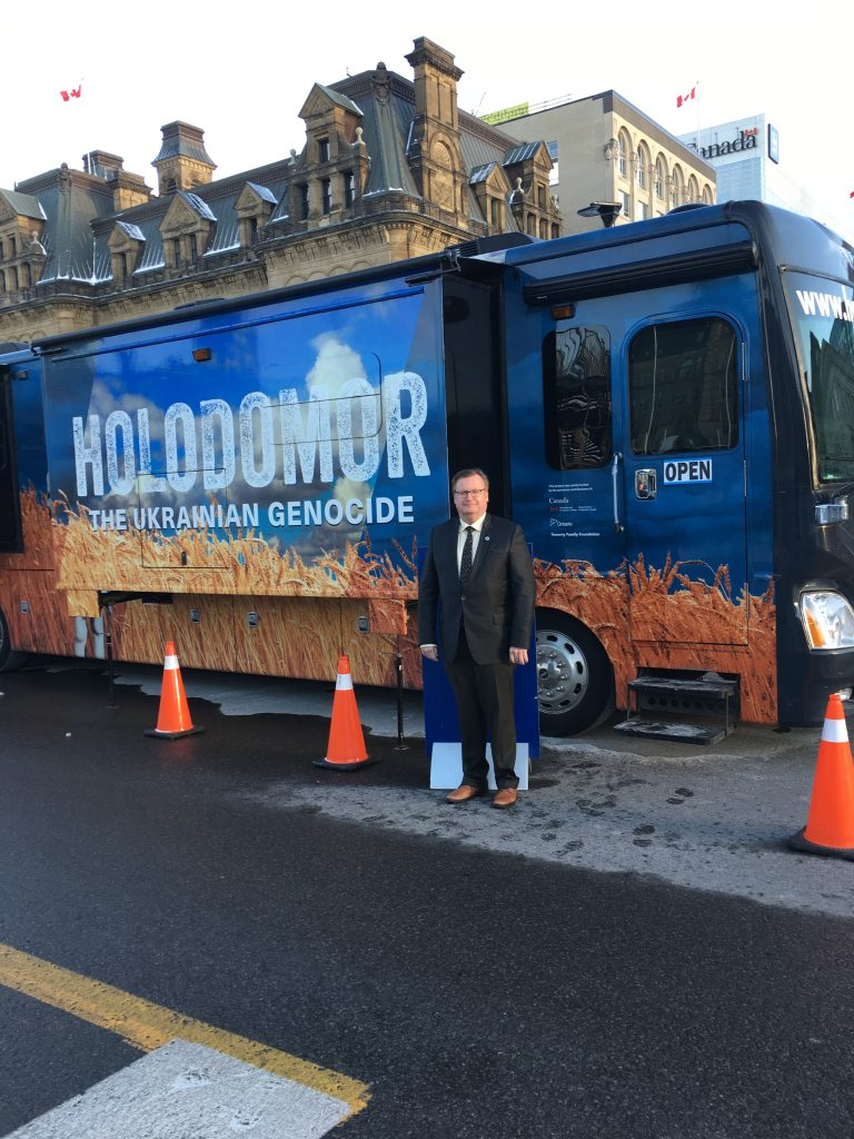 HOLODOMOR MOBILE TOURING BUS