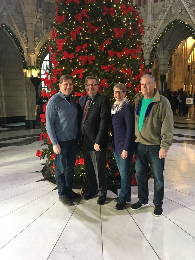 KEITH MOEN (NSBA)-TOUR OF PARLIAMENT