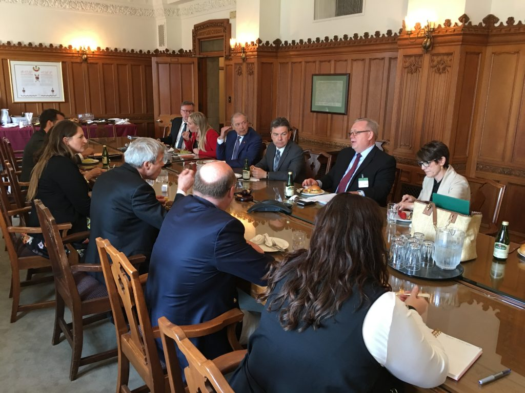 CHAMBER OF COMMERCE MEETING WITH THE SASKATCHEWAN CAUCUS