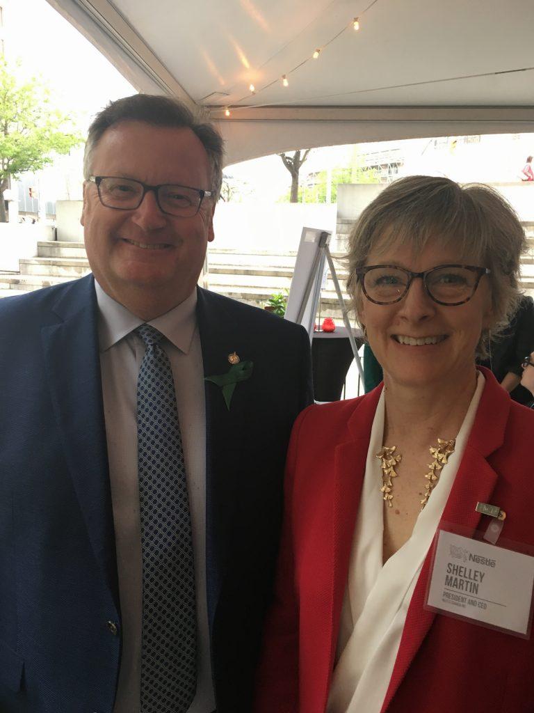 SHELLEY MARTIN, PRESIDENT & CEO NESTLE CANADA