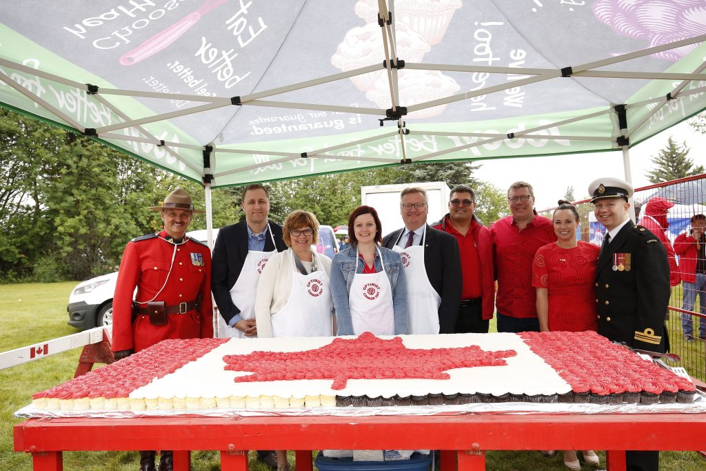 Canada Day celebration at Diefenbaker Park