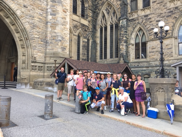 Connaught Elementary School Tour of Parliament