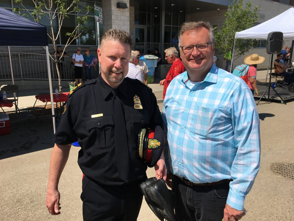 Saskatoon City Police community BBQ