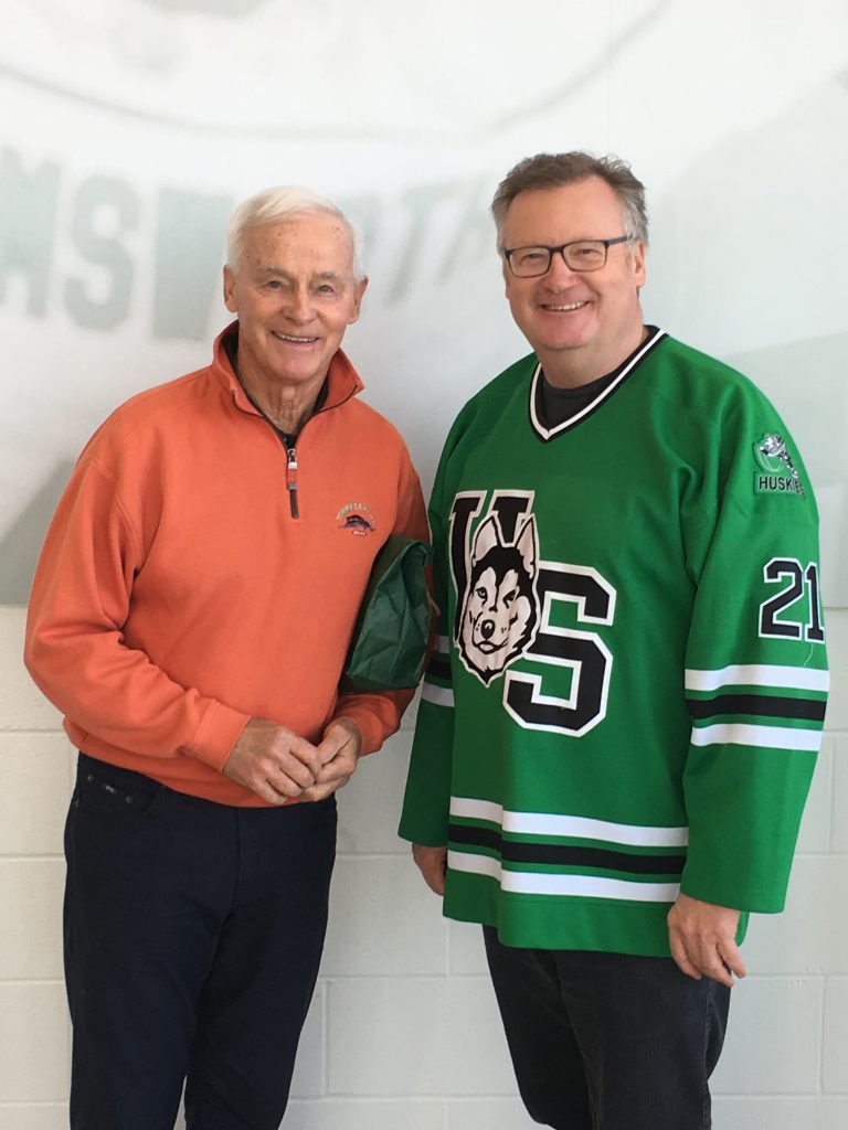 DAVE KING-5 TIME OLYMPIC HOCKEY COACH-MERLIS BELSHER PLACE GRAND OPENING WEEKEND