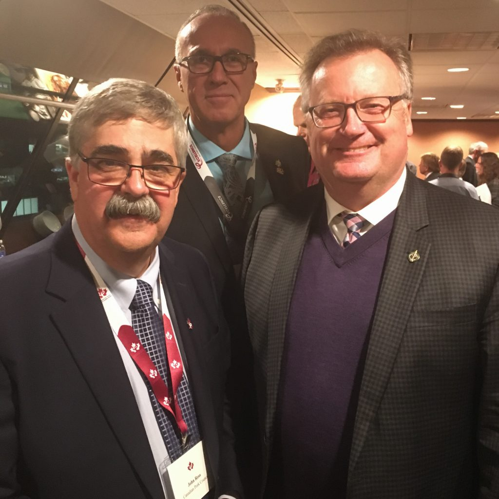JOHN ROSS, EXECUTIVE DIRECTOR CANADIAN PORK COUNCIL & GLEN MOTZ, MP MEDICINE HAT-CARDSTON-WARNER