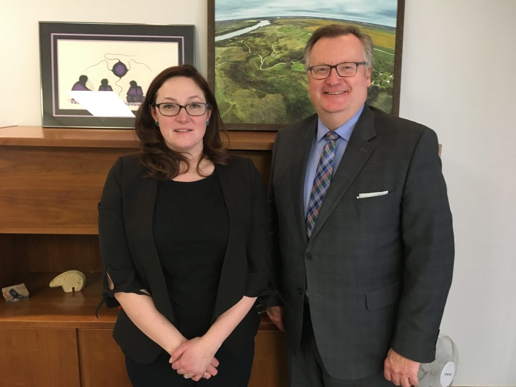 ANDREA LAFOND, CEO MEEWASIN