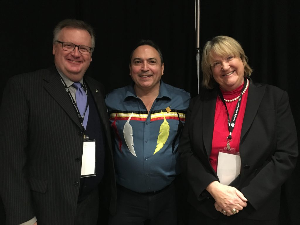 NATIONAL CHIEF PERRY BELLGARDE, ASSEMBLY OF FIRST NATIONS & CATHY MCLEOD, CONSERVATIVE SHADOW MINISTER INDIGENOUS & NORTHERN AFFIARS