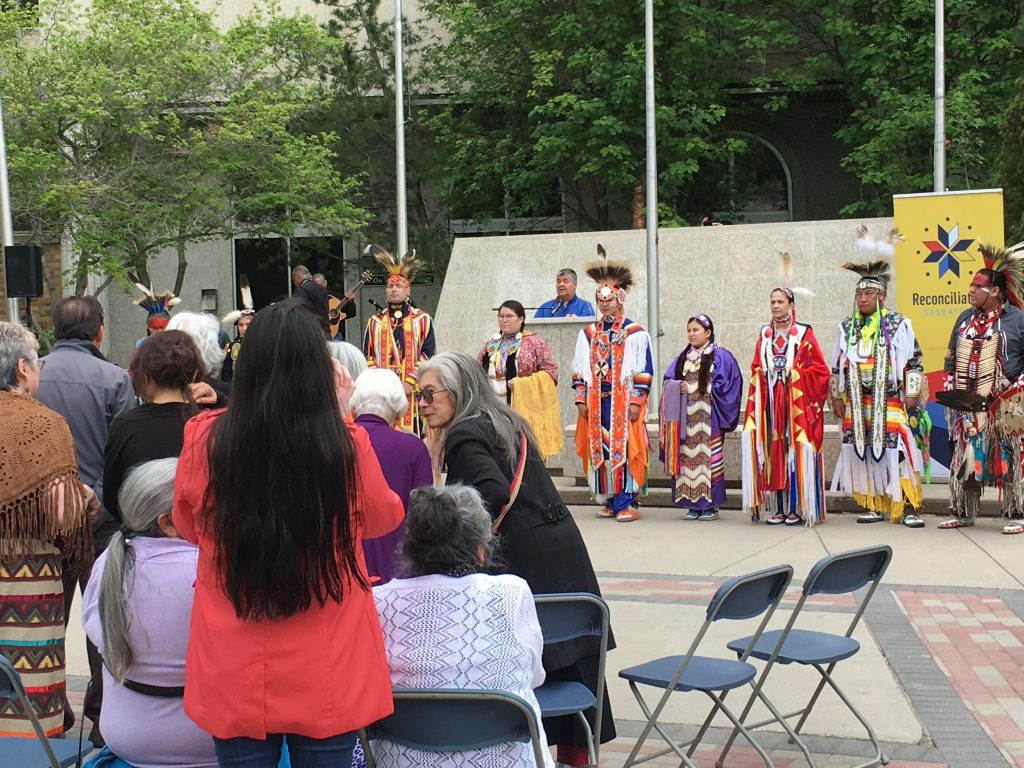 RECONCILIATION FLAG RAISING CEREMONY AT CITY HALL